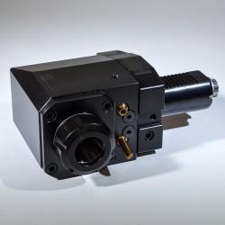 Frézovací jednotka VDI40 úhlová pro kleštiny ER32, pravá, vnější chlazení