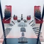 Balíček frézovacích nástrojů na ocela
