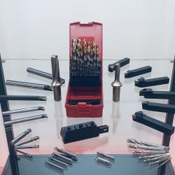 Balíček nástrojů VDI 40 s poháněnými nástroji na hliník
