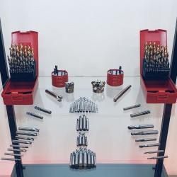 Balíček frézovacích nástrojů pro stroje VM na ocel
