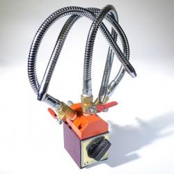 Magnetické těleso se třemi ocelovými tryskami VMH-65
