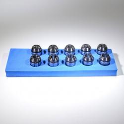 Sada 10 ks kleštin ER20L 4-13 mm