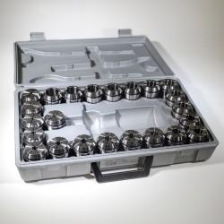 Sada 23 ks kleštin ER40L 4-26 mm