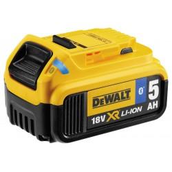 Akumulátor 18V XR 5,0Ah Li-Ion zásuvný Bluetooth DEWALT DCB184B