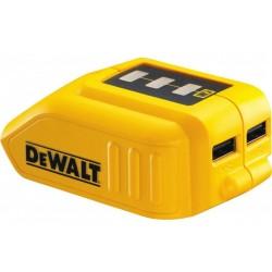 Nabíjecí USB adaptér DEWALT pro baterie XR 10,8 - 18V DCB090