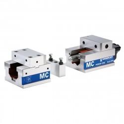 Dělený přesný svěrák AOM-200 / HV mechanický se zesilovačem upínací síly