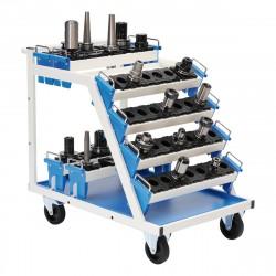 NC vozík pro max. 8 nosičů držáků nástrojů 630 x 900 x 860 (bez vložek a nosičů)