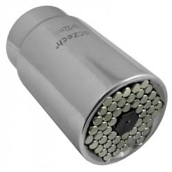 """3/8"""" Hlavice 4CZech univerzální 7-19 mm"""