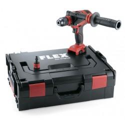 Aku-šroubovák FLEX 18,0 V 4-rychlostní + kufřík L-BOXX (bez aku)
