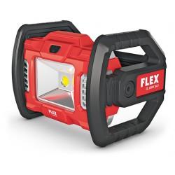 LED aku-svítilna FLEX 18,0 V otočná o 360° / 1200 a 2000 lm (bez aku)