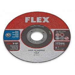 Tenké řezací kotouče FLEX  125 mm (1 mm) na ušlechtilou ocel (10ks)