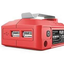 Adaptér pro baterie FLEX 18,0 nebo 10,8 V s výstupem USB na dobíjení