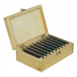 Sada 14 párů broušených podložek tloušťka 10 mm, délka 150 mm