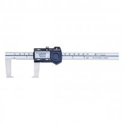 Digitální posuvné měřítko 0-300 mm pro vnější drážky, s datovým výstupem