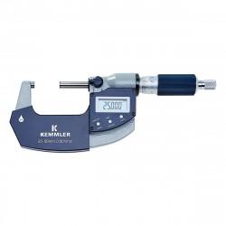 Digitální mikrometr 50-75 s datovým výstupem, IP 65
