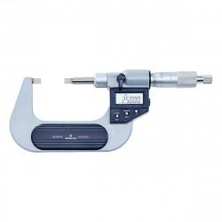 Digitální mikrometr pro měření drážek 0-25 mm, IP65
