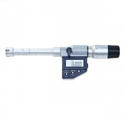 Digitální mikrometr - 3bodový dutinoměr 16-20 mm, rozlišení 0,001 mm, IP65