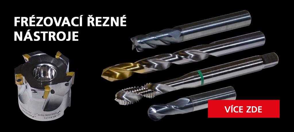 Kompletní nabídka řezných nástrojů pro frézování